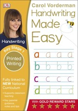 Handwriting Made Easy Printed Writing Ks1 - Vorderman, Carol - ISBN: 9780241198674