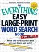 Everything Easy Large-print Word Search Book, Volume 5 - Timmerman, Charles - ISBN: 9781440585395
