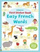 First Sticker Book Easy French Words - Brooks, Felicity - ISBN: 9781409551232