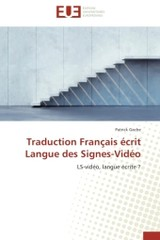 Traduction Fran Ais  Crit Langue Des Signes-vid O - Gache-p - ISBN: 9783841743589