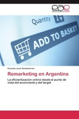 Remarketing En Argentina - Santamarina Gonzalo Jose - ISBN: 9783659090714