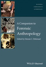 Companion To Forensic Anthropology - ISBN: 9781118959794