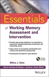 Essentials Of Working Memory Assessment And Intervention - ISBN: 9781118638132