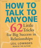 How To Talk To Anyone - Lowndes, Leil - ISBN: 9781593160265