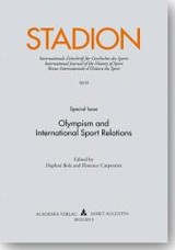 Stadion. Olympism and International Sport relations - Carpentier, Florence - ISBN: 9783896656537