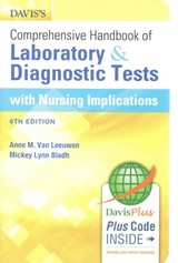 Davis's Comprehensive Handbook Of Laboratory And Diagnostic Tests With Nursing Implications - Bladh, Mickey L.; Van Leeuwen, Anne M. - ISBN: 9780803644052