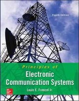 Principles Of Electronic Communication Systems + Website - Frenzel, Louis E., Jr. - ISBN: 9780073373850