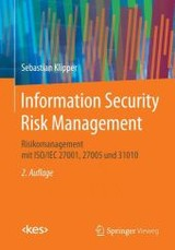Information Security Risk Management - Klipper, Sebastian - ISBN: 9783658087739
