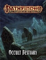 Pathfinder Campaign Setting: Occult Bestiary - Staff, Paizo - ISBN: 9781601257673