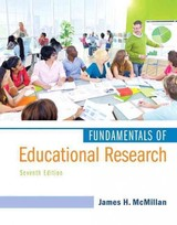 Fundamentals Of Educational Research - McMillan, James H. - ISBN: 9780134013497