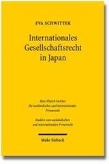 Internationales Gesellschaftsrecht In Japan - Schwittek, Eva - ISBN: 9783161533686