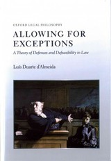 Allowing For Exceptions - Duarte D'almeida, Luis - ISBN: 9780199685783