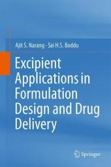 Excipient Applications In Formulation Design And Drug Delivery - Narang, Ajit S./ Boddu, Sai H. S. - ISBN: 9783319202051
