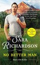 No Better Man - Richardson, Sara - ISBN: 9781455530847