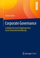 Governance, Compliance Und Risikomanagement - Ulrich, Patrick - ISBN: 9783658078959