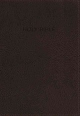 Nkjv, Foundation Study Bible, Leathersoft, Brown, Red Letter Edition - Thomas Nelson - ISBN: 9780718035686
