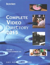 Bowker's Complete Video Directory, 2015 - ISBN: 9781619256316