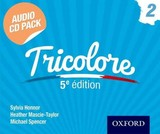 Tricolore Audio Cd Pack 2 - Honnor, Sylvia; Mascie-taylor, Heather; Spencer, Michael - ISBN: 9781408527412