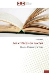 Les Crit Res Du Succ S - Epiney-c - ISBN: 9783841740663