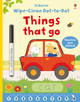 Wipe-clean Dot-to-dot Things That Go - Brooks, Felicity - ISBN: 9781409597803