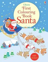 First Colouring Book Santa + Stickers - Greenwell, Jessica - ISBN: 9781474906388