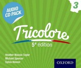 Tricolore Audio Cd Pack 3 - Mascie-taylor, Heather; Honnor, Sylvia; Spencer, Michael - ISBN: 9781408527429