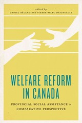 Welfare Reform In Canada - Béland, Daniel (EDT)/ Daigneault, Pierre-marc (EDT) - ISBN: 9781442609723
