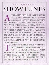 Library Of Showtunes - Amsco Publications - ISBN: 9781780389059