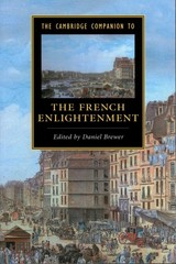 Cambridge Companion To The French Enlightenment - Brewer, Daniel (EDT) - ISBN: 9781107626140
