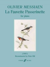 La Fauvette Passerinette - Messiaen, Olivier - ISBN: 9780571539055