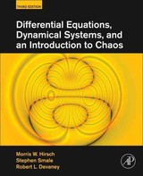 Differential Equations, Dynamical Systems, and an Introduction to Chaos - Devaney, Robert L.; Smale, Stephen; Hirsch, Morris W. - ISBN: 9780123820112