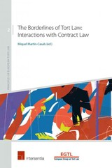 Borderlines Of Tort Law: Interactions With Contract Law - Martin-casals, Miquel (EDT) - ISBN: 9781780682488