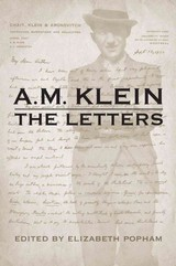 A.m. Klein The Letters - Klein, A.m. - ISBN: 9781442686502