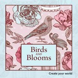 Birds And Blooms - New Holland Publishers (COR) - ISBN: 9781742577975
