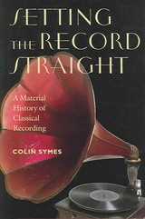 Setting The Record Straight - Symes, Colin - ISBN: 9780819567215
