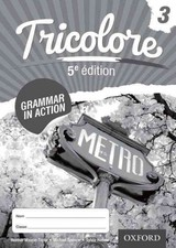 Tricolore Grammar In Action 3 (8 Pack) - Honnor, Sylvia; Spencer, Michael; Mascie-taylor, Heather - ISBN: 9781408527450