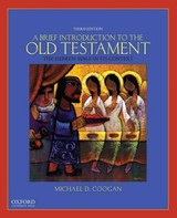 Brief Introduction To The Old Testament - Chapman, Cynthia R. (adelia A.f. Johnston And Harry Thomas Frank Associate Professor Of Religion, Adelia A.f. Johnston And Harry Thomas Frank Associate Professor Of Religion, Oberlin College); Coogan, Michael D. (lecturer On Old Testament/hebrew Bible At The Harvard Divinity School And Director Of Publications For The Harvard Semitic Museum) - ISBN: 9780190238599