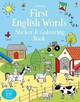 First English Words Sticker And Colouring Book - Robson, Kirsteen - ISBN: 9781409582816