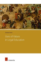 Uses Of Values In Legal Education - Ferris, Graham - ISBN: 9781780681238