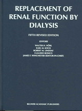 Replacement of Renal Function by Dialysis - ISBN: 9781402000836