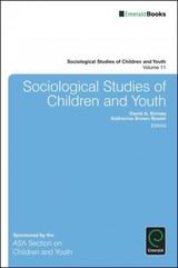 Sociological Studies Of Children And Youth - Kinney, David A. (EDT)/ Rosier, Katherine Brown (EDT) - ISBN: 9781784413200