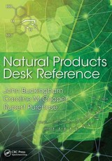 Natural Products Desk Reference - Purchase, Rupert (visiting Fellow, University Of Sussex); Cooper, Caroline M. (london, Uk); Buckingham, John (consultant Editor, Dictionary Of Natural Products, London, Uk) - ISBN: 9781439873618