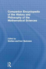 Companion Encyclopedia Of The History And Philosophy Of The Mathematical Sciences - Grattan-Guinness, Ivor (EDT) - ISBN: 9780415862028