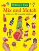 Sticker Fun Mix And Match - Armadillo (COR) - ISBN: 9781861474353