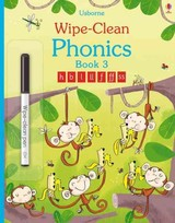 Wipe-clean Phonics Book 3 - Mackinnon, Mairi - ISBN: 9781409597773
