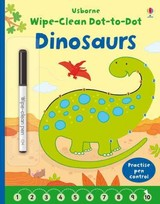 Wipe-clean Dot-to-dot Dinosaurs - Brooks, Felicity - ISBN: 9781409597780