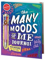 The Many Moods Of Me Journal - Klutz, Inc. (COR)/ Dirty Bandits (ILT) - ISBN: 9780545805469