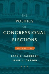 Politics Of Congressional Elections - Carson, Jamie L.; Jacobson, Gary C. - ISBN: 9781442252622