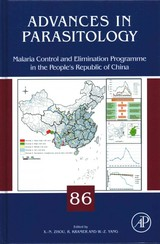 Advances in Parasitology, Malaria Control and Elimination Program in the People s Republic of China - ISBN: 9780128008690
