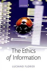 Ethics Of Information - Floridi, Luciano (university Of Oxford) - ISBN: 9780198748052
